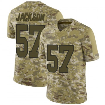Youth Rickey Jackson New Orleans Saints Limited Camo 2018 Salute to Service Jersey